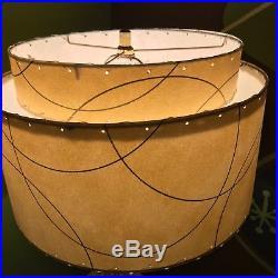Vintage Mid Century Modern Retro Atomic 50's Table Lamp 60's light