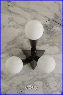 Vintage Mid-Century Modern Table Lamp Deco Eames Milo Baughman Style Light