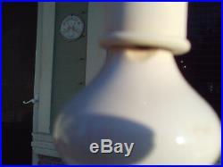Vintage Mid Century Pair Of Porcelain Ginger Jar Table Lamps