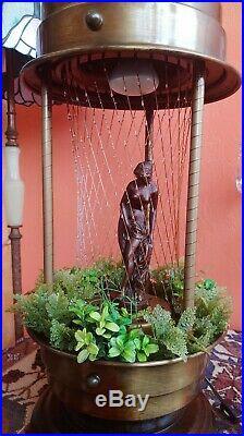Vintage Mineral Oil Rain Lamp Nude Goddess 28x 11 Table lamp