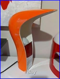Vintage Retro PELOTA Desk Table Lamp by Casati & Ponzio for Lamperti 70's Italy