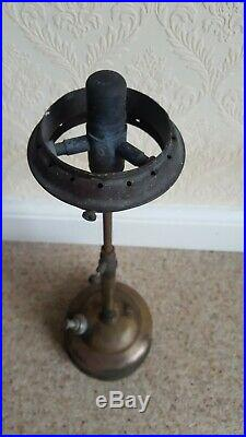 Vintage Tilley TL106 Pork Pie Table Lamp with Glass Shade