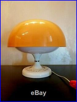Vintage USSR Space Age Lamp Mid Century Table Lamp Mushroom Lamp UFO Lamp