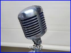 Vintage original NOS Shure 556S 556 S microphone mic Unidyne Elvis type