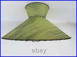 Vtg Set Nubian Blackamoor Chalk ware Table Lamps Fiberglass Shade Marble Finial
